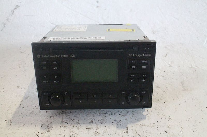 Radio NavigationVW GOLF IV (1J1) 1.4 16V